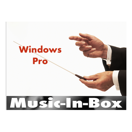 Music-In-Box Pro (Windows) licence
